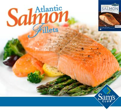 Frozen Atlantic Salmon from C wirthy